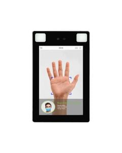 PROFACE X P IP68 RATED STAND ALONE ACCESS CONTROL DEVICE FACE AND PALM RECOGNITION WITH MASK DETECTION FACE CAPACITY 30000 PALM CAPACITY 5000 CARD CAPACITY 50000 LINUX OPERATING SYSTEM