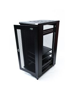 ZONE RACK 42U 600 X 1000 PERF DOORS FULL SPEC
